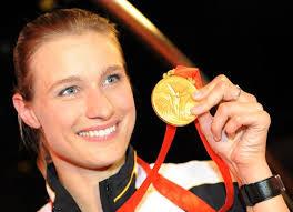 Britta Heidemann (born 22 December 1982 in Cologne) is a German épée fencer. - Britta_Heidemann_1