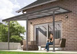 polycarbonate patio cover kits  palram feria x patio cover gray