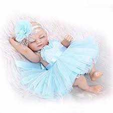 <b>NPKDOLL Reborn Baby Doll</b> Hard Simulation Silicone Vinyl 10inch ...