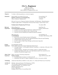 resume sample of civil engineer student resume template 17 best images about resume example high school