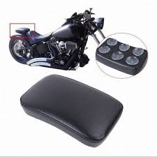Rear Passenger Leather Seat Pillion Cushion For Harley Davidson ...