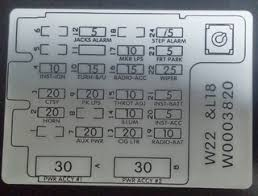 fuse box info under dash 2001winnebago adventurer v32 irv2 forums here s a better shot that s easier to the labels