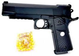 <b>Пистолет Наша Игрушка Пистолет</b> черный 2036 — купить ...