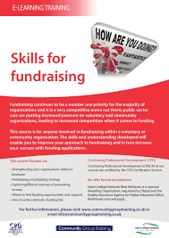 community development training skills for fundraising community development training skills for fundraising flyer