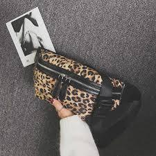 CCRXRQ 2019 New Arrival Women Waist <b>Bags</b> Sexy <b>Leopard</b> PU ...