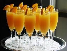 Картинки по запросу Как сделать простой алкогольный коктейль «Мимоза» с игристым вином