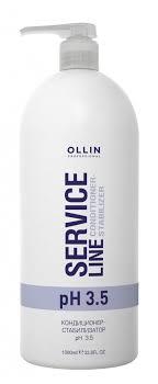 Ollin Professional <b>Service</b> Line Сonditioner-Stabilizer Ph 3.5 ...