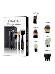 <b>Подарочный набор кистей для</b> макияжа Pro Style Compact Limoni ...