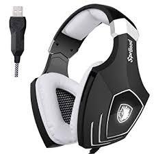 SADES <b>A60</b>/OMG Computer USB Gaming Headset Over Ear <b>Stereo</b> ...