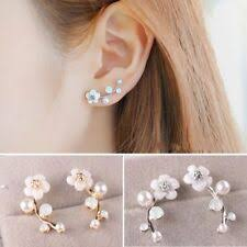 Pearl <b>Shell Stud Fashion Earrings</b> for sale | eBay