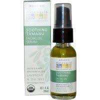 Aura Cacia, <b>Organic Soothing Tamanu Facial</b> Oil Serum, Lavender ...