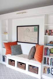 office makeover reveal ikea hack built in billy bookcases bookcase book shelf library bookshelf read office