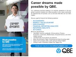 jobs asia pacific college hiring at qbe