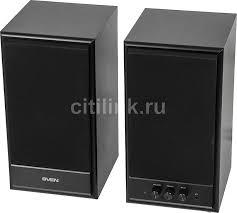 Купить <b>Колонки SVEN SPS-702</b>, <b>2.0</b>, черный в интернет-магазине ...