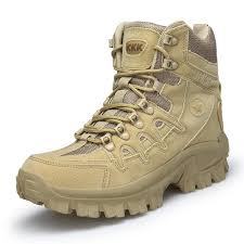 <b>Men Professional Tactical Hiking</b> Boots Waterproof Breathable ...
