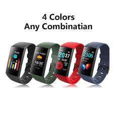 <b>Smart Bracelet CY11 Fitness</b> Tracker With Real Heart Rate ...