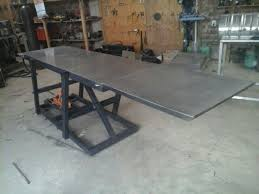 Lift table already finish!