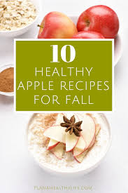 10 Clean Eating Apple Recipes for Fall - 21 Day Fix Approved ...