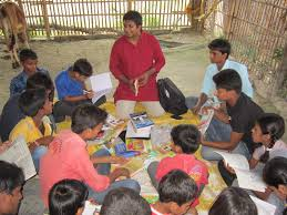 how a library in a village in bihar is changing the lives of the during the start of initiative 15th 2013