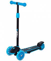 <b>Самокат</b> 3-х колесный <b>RIDEX 3D Spike</b> (120/100 мм), синий ...