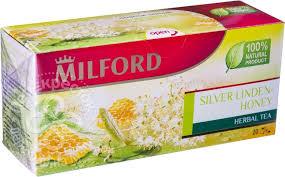 Купить Чай травяной <b>Milford Silver</b> Linden-Honey 20 пак с ...