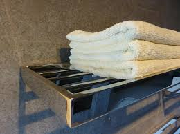 <b>Stainless Steel Bath Towel</b> Shelf Supply. Eco Friendly, Patented and ...