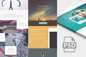 website psd templates graphicsfuel 10 website psd templates