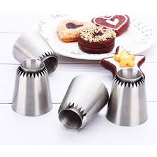 1Pcs <b>Stainless steel Sultan Ring</b> Cookies Mold Piping Nozzles ...