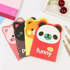 <b>Mini</b> Animal <b>Notepad</b> Cartoon Panda <b>Notebook</b> Lightweight <b>Portable</b> ...