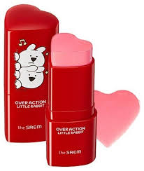 The Saem <b>Румяна</b>-<b>стик Over Action Little</b> Rabbit Love Me — купить ...