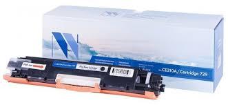 <b>Картридж NV Print</b> CE310A/729 Black для HP и Canon — купить ...