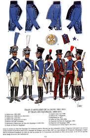 best images about napoleonic uniform train d artillerie de la ligne 1801 1814 train des eacutequipages 1808