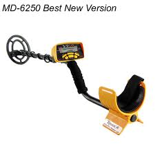 Professional <b>Metal Detector MD 6250</b>,<b>Underground</b> Metal Gold ...
