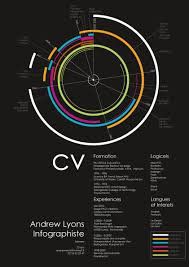 visual infographic resume examples vizualresume com circle resume by lyons