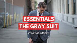 The Gray Notch <b>Lapel Suit</b> - <b>Men's</b> Wardrobe Essentials - YouTube