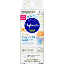 Hylands <b>Baby Tiny Cold</b> Tablets, 125 Ct - Walmart.com - Walmart.com