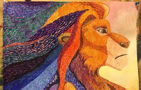 """<b>Картина</b> """"<b>Lion king</b> Mufasa"""" – купить в Санкт-Петербурге, цена ..."""