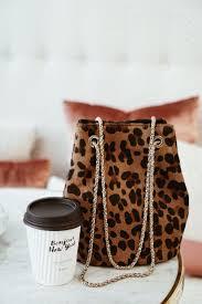 Love a <b>leopard print bucket</b> bag, <b>leopard print</b> bag is a staple, mini ...