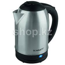 ᐈ <b>Чайник Scarlett SC-EK21S59</b>, Black-Steel – купить в интернет ...