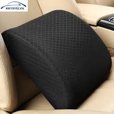 <b>KKYSYELVA Memory Foam Lumbar</b> Support Back Cushion Pillow ...