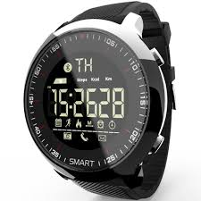 <b>Waterproof Sports Smartwatch</b> - Compatible with iOS & Android