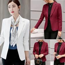 <b>Женская</b> Повседневная мода <b>Slim</b> Fit бизнес основные <b>куртка</b> ...