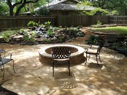 feature patio water