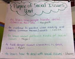 images about grade  literary essay social issues on    currently  we are in our social issues unit in reading workshop  one of my favorite units   and students are in book clubs  last week  to