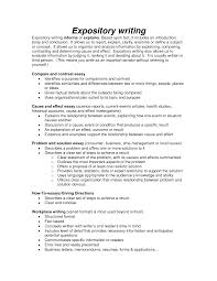 sample expository essay resume sample information gallery of sample expository essay