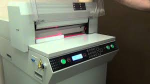 <b>Boway</b> 450Z Electric Paper Cutter - YouTube