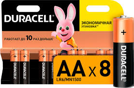ROZETKA | Щелочные <b>батарейки Duracell AA</b> (<b>LR06</b>) MN1500 8 ...