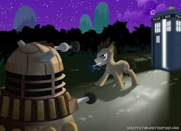 Image result for photos of dr whooves and dr who actors