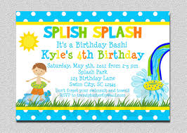 baby shower pool party invitation wording pool party birthday pool party invitation multi colors boy pool party idea inspired from