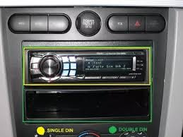 What is the difference between single <b>DIN</b> and double <b>DIN car</b> audio ...
